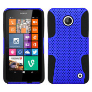 *$1 SALE* Astronoot Multi-Layer Hybrid Case for Nokia Lumia 630 / 635 - Blue