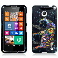 *$1 SALE* Snap-On Protective Image Case for Nokia Lumia 630 / 635 - Elephant Black