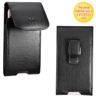 Leather Vertical Hip Case - Black 11352