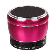 Mobile Bluetooth Wireless Speaker with Hands-Free Speakerphone - Hot Pink