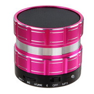 Portable Bluetooth Wireless Speaker with Hands-Free Speakerphone - Hot Pink