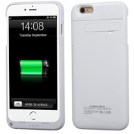 *SALE* Quantum Energy Battery Charger Case 4800mAh for iPhone 6 Plus / 6S Plus - White