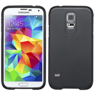 Hybrid Multi-Layer Armor Case for Samsung Galaxy S5 - Black