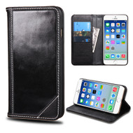 *SALE* Mybat Genuine Leather Wallet Case for iPhone 6 / 6S - Black