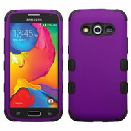 Military Grade Certified TUFF Hybrid Case for Samsung Galaxy Avant - Purple