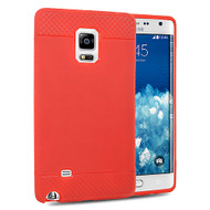 *Sale* Premium TPU Skin Cover for Samsung Galaxy Note Edge - Red