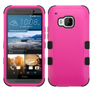 *Sale* Military Grade TUFF Hybrid Case for HTC One M9 - Hot Pink