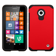 *$1 SALE* Hybrid Multi-Layer Armor Case for Nokia Lumia 630 / 635 - Red