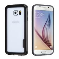 Snap-On Hybrid Bumper Case for Samsung Galaxy S6 - Black