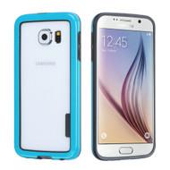 Snap-On Hybrid Bumper Case for Samsung Galaxy S6 - Blue