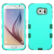 Military Grade Certified TUFF Hybrid Case for Samsung Galaxy S6 - Green