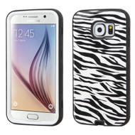 Verge Image Hybrid Case for Samsung Galaxy S6 - Zebra