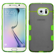 Co-Molded Impact Absorbing Case for Samsung Galaxy S6 Edge - Smoke Green