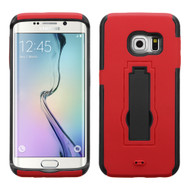 Explorer Impact Armor Kickstand Case for Samsung Galaxy S6 Edge - Red