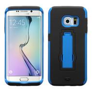 Explorer Impact Armor Kickstand Case for Samsung Galaxy S6 Edge - Black Blue