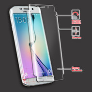 Crystal Clear Screen Protector for Samsung Galaxy S6 Edge - Twin Pack