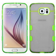 Co-Molded Impact Absorbing Case for Samsung Galaxy S6 - Smoke Green