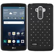 TotalDefense Diamond Hybrid Case for LG G Stylo / Vista 2 - Black
