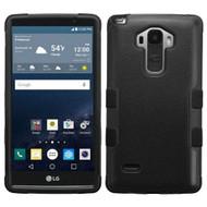 Military Grade Certified TUFF Hybrid Case for LG G Stylo / Vista 2 - Black