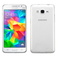Rubberized Crystal Case for Samsung Galaxy Grand Prime - Clear