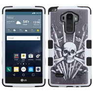 Military Grade Certified TUFF Image Hybrid Case for LG G Stylo / Vista 2 - Sword and Skull
