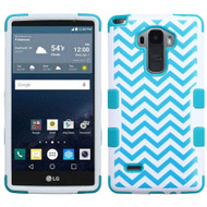 Military Grade Certified TUFF Image Hybrid Case for LG G Stylo / Vista 2 - Blue Wave
