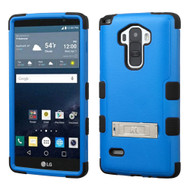 Military Grade Certified TUFF Hybrid Kickstand Case for LG G Stylo / Vista 2 - Blue