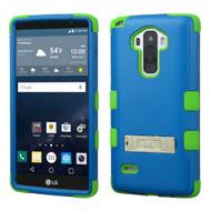 Military Grade Certified TUFF Hybrid Kickstand Case for LG G Stylo / Vista 2 - Blue Green