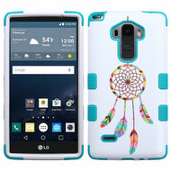 Military Grade Certified TUFF Image Hybrid Case for LG G Stylo / Vista 2 - Pastel Dreamcatcher