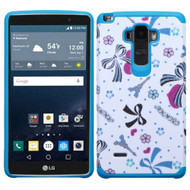 Hybrid Multi-Layer Armor Case for LG G Stylo / Vista 2 - Eiffel Towers