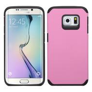 Hybrid Multi-Layer Armor Case for Samsung Galaxy S6 Edge Plus - Pink