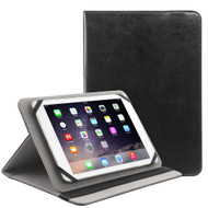 Universal Leather Kickstand Cover - Black