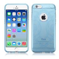 ECHO Premium Transparent Cushion Case for iPhone 6 / 6S - Blue