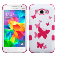 Military Grade Certified TUFF Image Hybrid Case for Samsung Galaxy Grand Prime - Butterfly Dancing