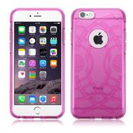 ECHO Premium Transparent Cushion Case for iPhone 6 Plus / 6S Plus - Hot Pink