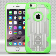 Challenger Transparent Hybrid Case for iPhone 6 Plus / 6S Plus - Green
