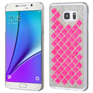 Desire Bling Bling Crystal Cover for Samsung Galaxy Note 5 - Diamond Hot Pink