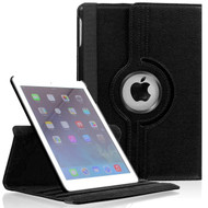 *SALE* 360 Degree Smart Rotating Leather Case for iPad Mini 4 - Black