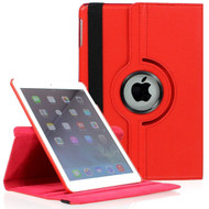 *SALE* 360 Degree Smart Rotating Leather Case for iPad Mini 4 - Red