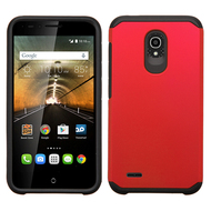 *Sale* Hybrid Multi-Layer Armor Case for Alcatel OneTouch Conquest - Red