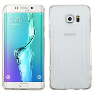 Easy Grip Candy Skin Cover for Samsung Galaxy S6 Edge Plus - Clear