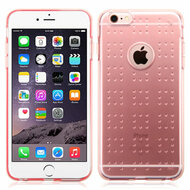 Perforated Transparent Cushion Gelli Skin Cover for iPhone 6 Plus / 6S Plus - Rose Gold