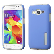 Pro Shield Hybrid Armor Case for Samsung Galaxy Core Prime / Prevail LTE - Blue