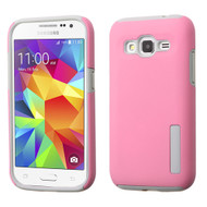 Pro Shield Hybrid Armor Case for Samsung Galaxy Core Prime / Prevail LTE - Pink