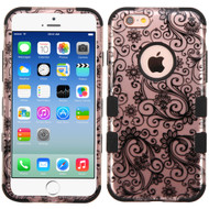 Military Grade Certified TUFF Image Hybrid Case for iPhone 6 / 6S - Leaf Clover Rose Gold