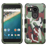 *Sale* Military Grade TUFF Image Hybrid Case for LG Google Nexus 5X - Camouflage