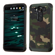 Tough Anti-Shock Hybrid Case for LG V10 - Camouflage