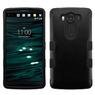 Military Grade Certified TUFF Hybrid Case for LG V10 - Black