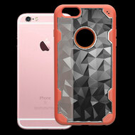 Challenger Polygon Hybrid Case for iPhone 6 Plus / 6S Plus - Orange
