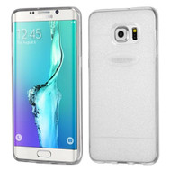 Sparkling Frost Candy Skin Cover for Samsung Galaxy S6 Edge Plus - Clear